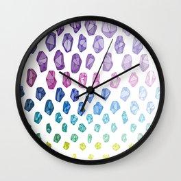 Mineralogy Wall Clock