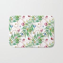 Glamorous Palm white Bath Mat
