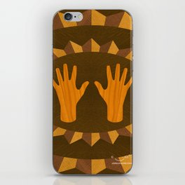The ASL Marquetry - (ASL Marquetry Series) iPhone Skin