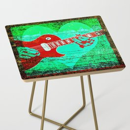 Guitar Love Side Table