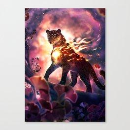 Still burning... Canvas Print