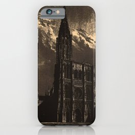 Iconographic Encyclopedia of Science, Literature and Art (1851) - Middle Age Architecture 3 iPhone Case