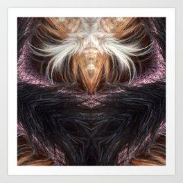 Black Witch Art Print