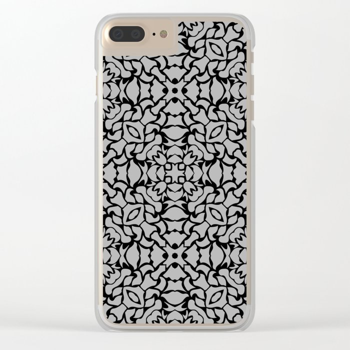 Pattern #09 Clear iPhone Case