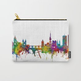 Prague (Praha) Czech Republic Skyline Carry-All Pouch