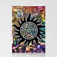 supernatural Stationery Cards featuring Supernatural by Spooky Dooky