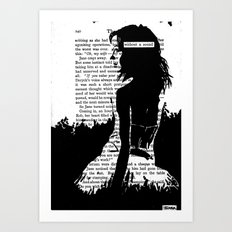 Without a Sound Art Print