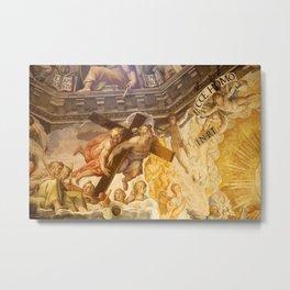 Vasari Fresco, Brunelleschi Cupola, Florence Duomo Metal Print