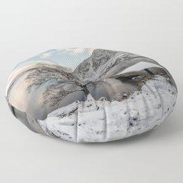 A Cold Start Floor Pillow