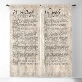United States Bill of Rights (US Constitution) Blackout Curtain