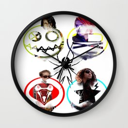 Fabulous Killjoys Wall Clock