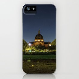 Clear Night iPhone Case