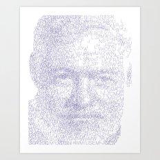 Ernest Art Print