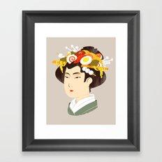 Japanese Delicacy Framed Art Print