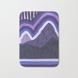 Purple Range Bath Mat