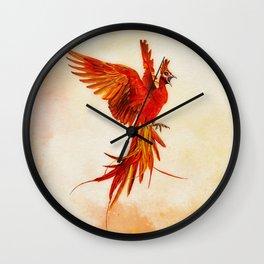 Phoenix Rising - #2 Wall Clock