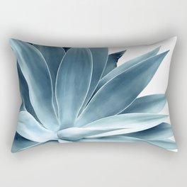 Bursting into life - teal Rectangular Pillow