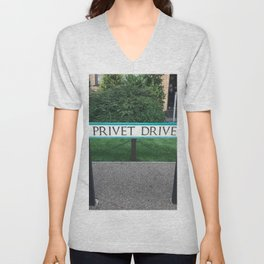 Privet Drive Sign Unisex V-Neck