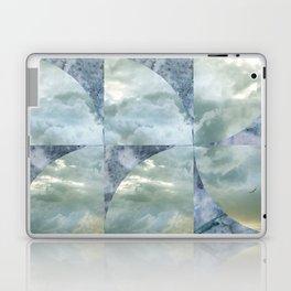 blue grey serendipity day Laptop & iPad Skin