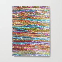 Rainbow Mosaic Metal Print
