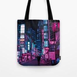 Stranger In The Night Tote Bag