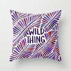 Wild Thing – Indigo Palette Throw Pillow