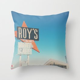 Roys Motel & Cafe ... Throw Pillow
