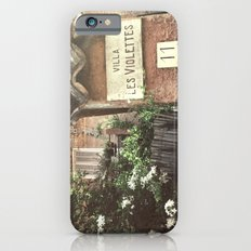 Villa Les Violettes iPhone 6s Slim Case