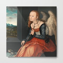 "Lucas Cranach the Elder ""Melancholy"" Metal Print"