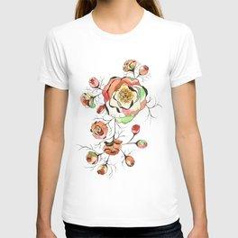Wild peonies T-shirt