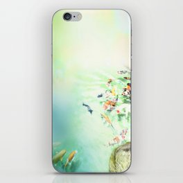 Fish watercolor iPhone Skin