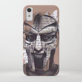 MF DOOM Portrait iPhone Case