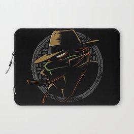 Undercover Ninja Mikey Laptop Sleeve