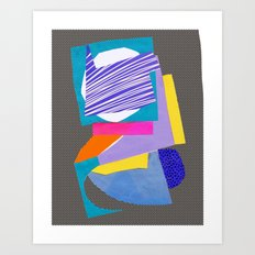 Magnetic content Art Print