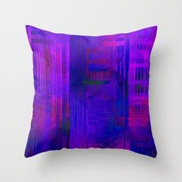 SchematicPrismatic 12 Throw Pillow