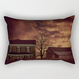 The Ranch of Western Ohio Rectangular Pillow