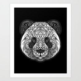 Zen Panda Art Print