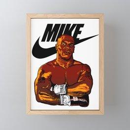 MIKE TYSON By La Brea Framed Mini Art Print