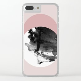 Minimalism 22 Clear iPhone Case