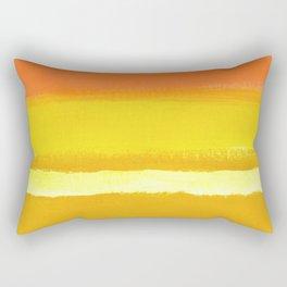 BIG Orange Rectangular Pillow