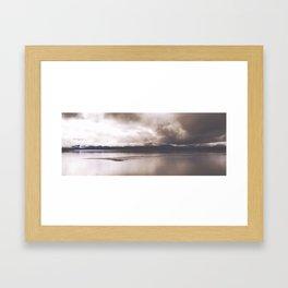 Yellowstone Lake Framed Art Print