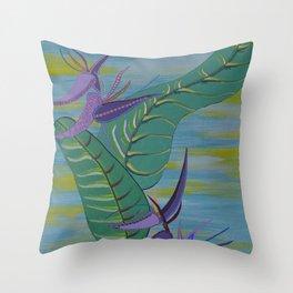 """Wild Banana"" by ICA PAVON Throw Pillow"