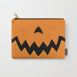 Crazy Pumpkin Jack-O-Lantern Mouth Carry-All Pouch