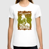 willy wonka T-shirts featuring Gold Ticket by Buby87