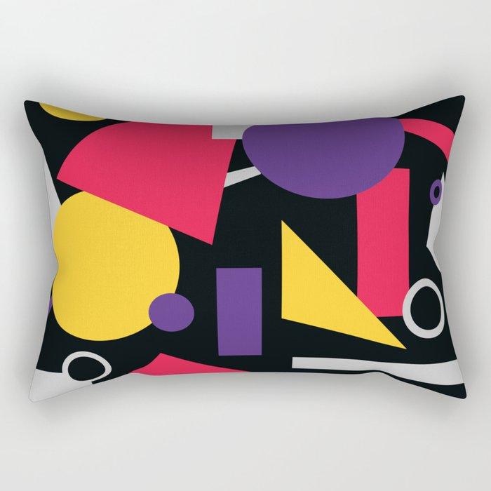 Geometric cocktail Rectangular Pillow