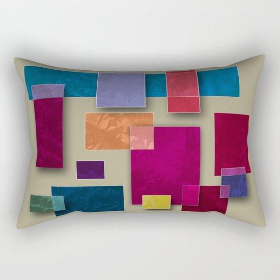 Abstract #333 Rectangular Pillow