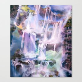 Flooded Strand Canvas Print