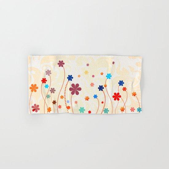 Summer Flowers Hand & Bath Towel