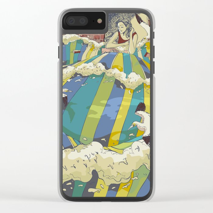 The Losing Wall Clear iPhone Case