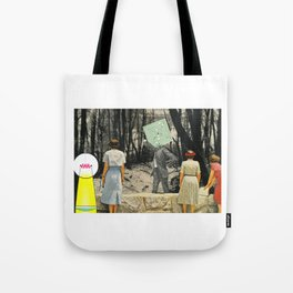 We're Not Always Who We Appear Tote Bag